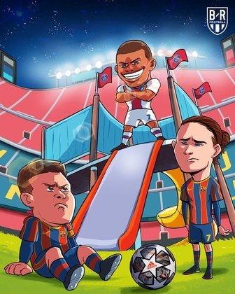 Champions League: os melhores memes de Barcelona 1 x 4 PSG