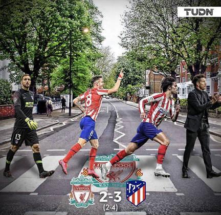 Champions League: os memes da classificação do Atlético de Madri sobre o Liverpool