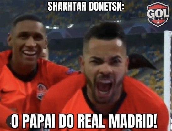 Champions League: os memes de Shakhtar Donetsk 2 x 0 Real Madrid