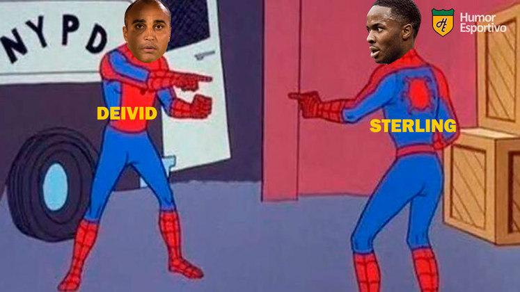 Champions League: Sterling perdeu gol feito que daria o empate ao Manchester City e foi alvo de memes nas redes sociais