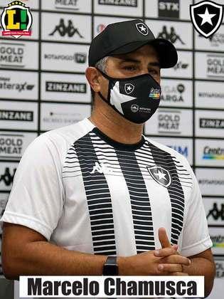 Chamusca - 5,0 - Botafogo começou bem, mas recuou logo após abrir o placar e teve dificuldades para matar o jogo. No segundo tempo, sofreu a virada e correu o risco de perder uma partida que poderia ter vencido. Empate com gosto amargo.