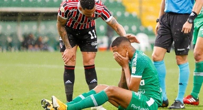 A Chape ocupa a última colocação do Campeonato Brasileiro, com apenas 12 pontos em 24 rodadas
