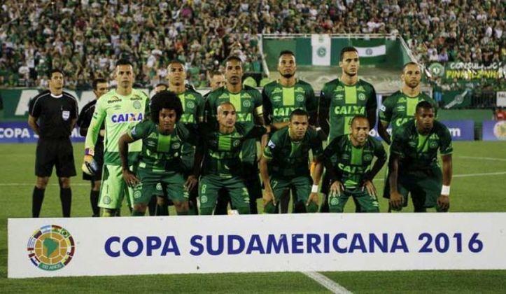 Chapecoense: A Chapecoense tem 1 título internacional (1 Copa Sul-Americana)
