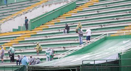 Arena Condá recebeu torcedores pela 1ª vez