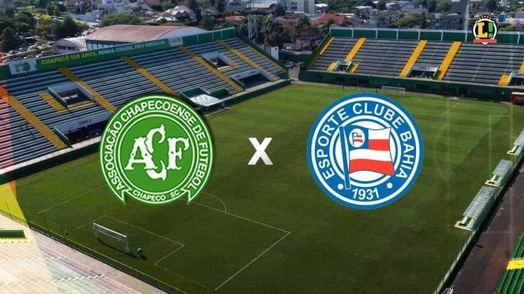 Chapecoense x Bahia - Estádio: Arena Condá - Dia 04/07/2021 - Horário: 11h - Transmissão: Premiere