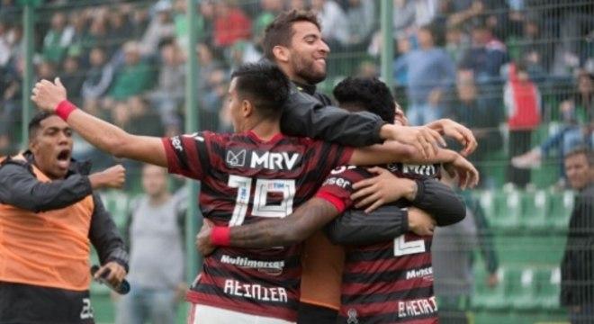 Flamengo tem motivos para celebrar