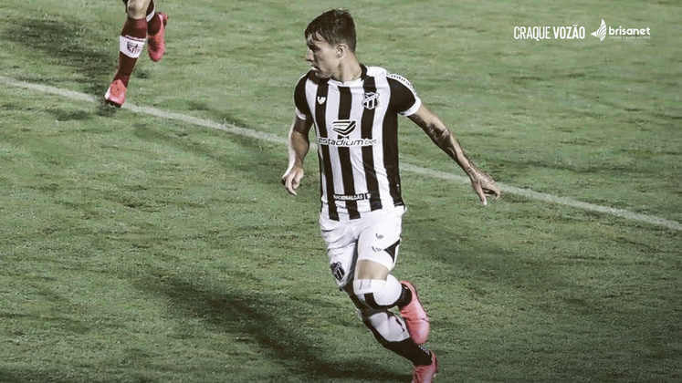 CHARLES - Ceará (C$ 4,00) - líder em desarmes na Série B, é a melhor opção pra quem deseja pontuar independentemente de gol ou assistência, pelo seu preço acessível.