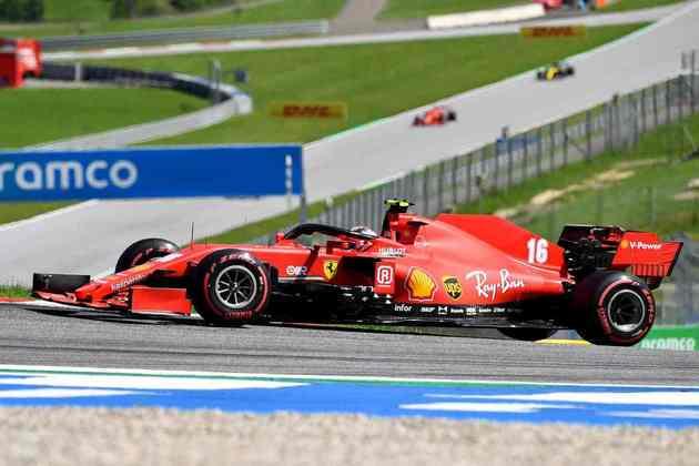 Charles fez boa corrida de recuperação no Red Bull Ring, mas a sorte esteve ao lado do monegasco