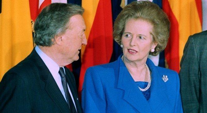 Documentos recém-divulgados vêm de uma anotação de conversas entre irlandês Taoiseach Charles Haughey e Margaret Thatcher de 1990