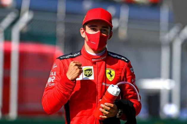 Charles Leclerc está confirmado na Ferrari até 2024