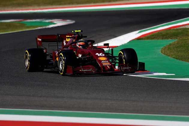 Charles Leclerc fez ótima classificação e larga em quinto para o GP da Toscana