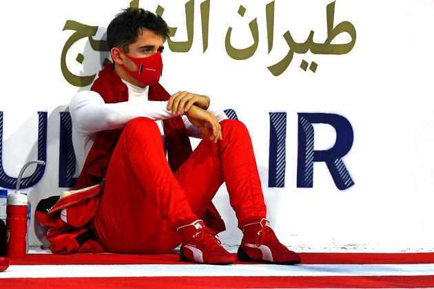 Charles Leclerc ficou bastante preocupado pelo acidente de Romain Grosjean