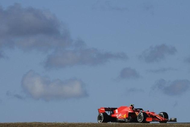 Charles Leclerc foi o quarto mais veloz do dia no circuito português