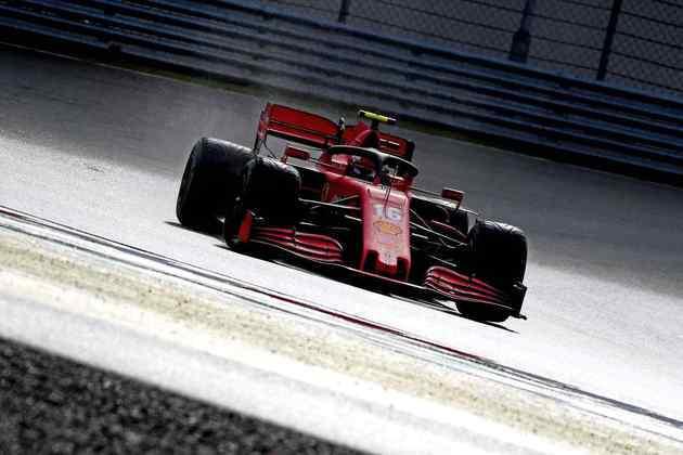 Charles Leclerc foi um dos destaques da corrida.