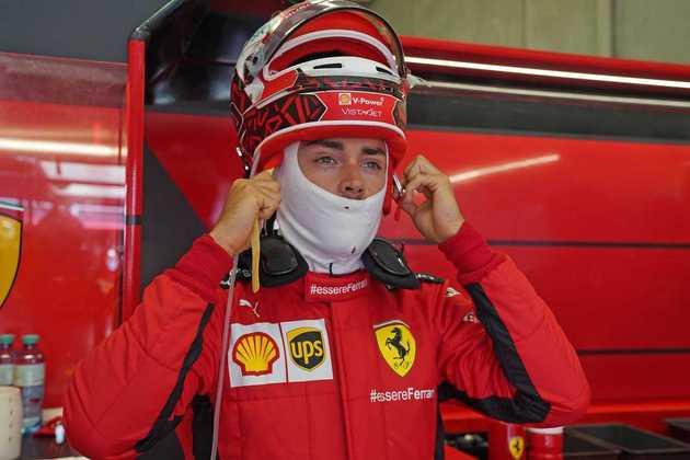 Charles Leclerc lamentou o resultado na classificação, 7º, e já disse que não espera milagre na corrida