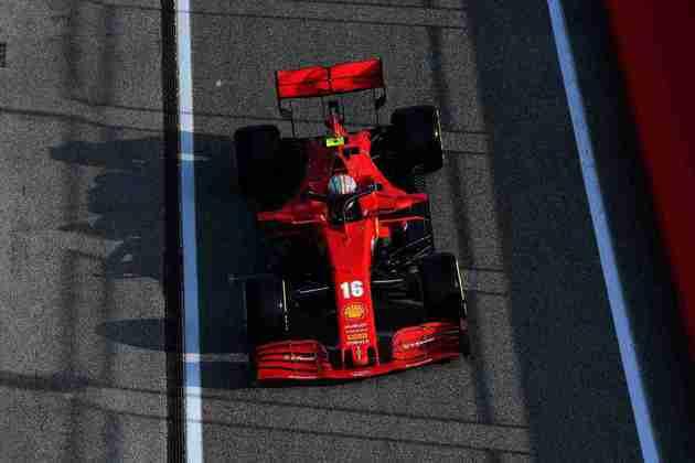 Charles Leclerc larga na sétima colocação no GP da Emília-Romanha
