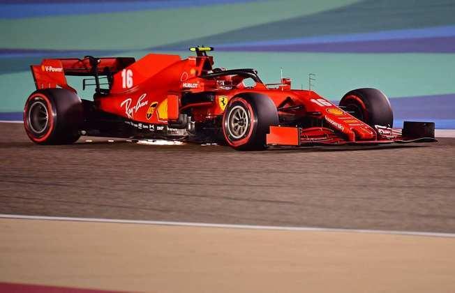 Charles Leclerc não conseguiu avançar ao Q3 novamente.