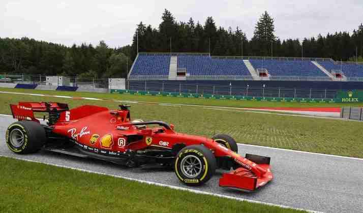 Charles Leclerc, que será o primeiro piloto a partir de 2021, fez pouco em Spielberg