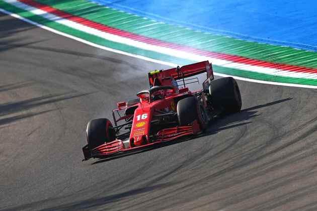 Charles Leclerc queria mais da Ferrari em Ímola