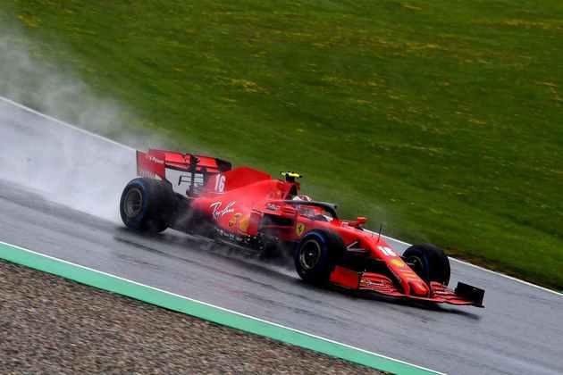 Charles Leclerc sequer conseguiu avançar para a fase final do treino que definiu o grid de largada