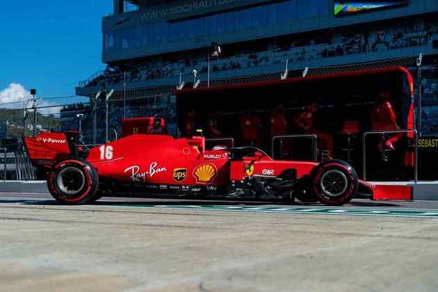 Charles Leclerc voltou a pontuar, mostrando bom desempenho no circuito russo