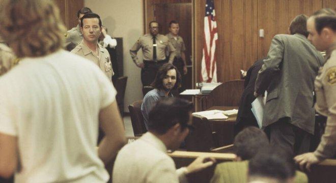 Charles Manson, no tribunal