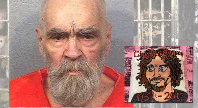 Charles Manson, no anúncio da sua morte