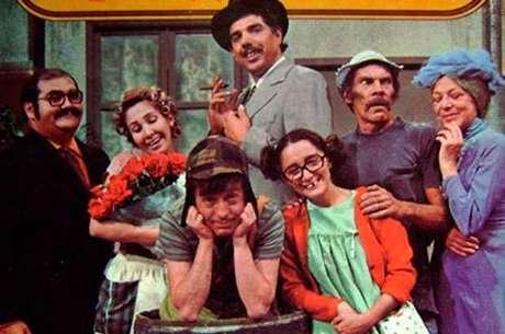 O adorado elenco de Chaves