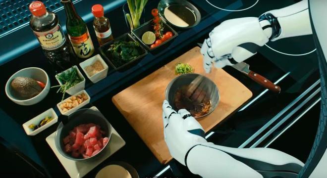 Robôs treinados por chefs profissionais podem replicar receitas de uma enorme biblioteca