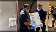 Pfizer entrega mais um milhão de vacinas nesta quinta-feira