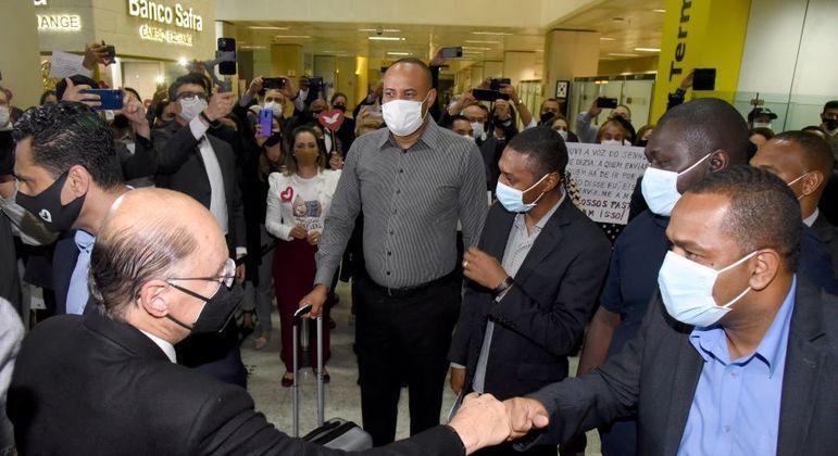 Missionários desembarcaram em São Paulo na última quarta-feira (12)