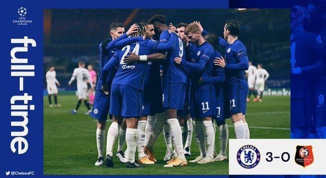 A capa do Twitter do Chelsea