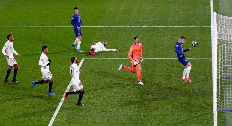 Imagem do primeiro gol, Timo Werner
