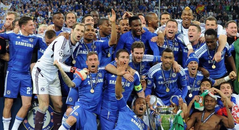 O Chelsea campeão de 2011/2012