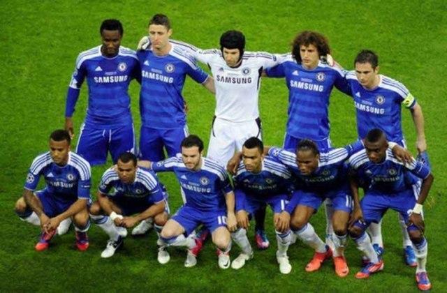 Chelsea - 1 título (2011–12).