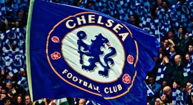 A bandeira do Chelsea