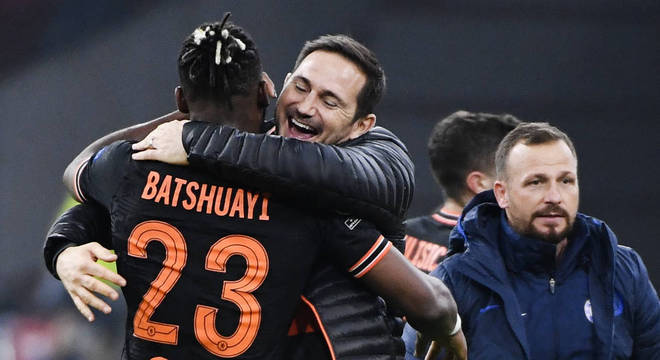 Chelsea 1 X 0, o abraço de Lampard em Batshuayi