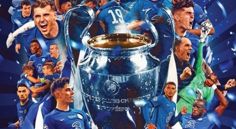 """O Chelsea, ganhador da """"Champions"""" pela segunda vez"""