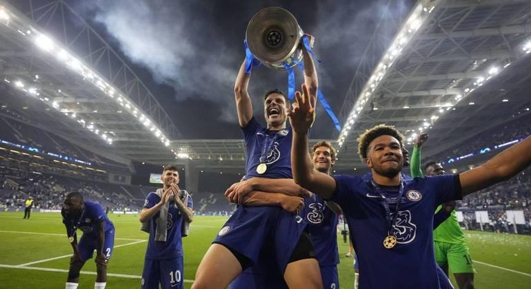 Chelsea venceu o City por 1 a 0 e chegou ao segundo título de Liga dos Campeões