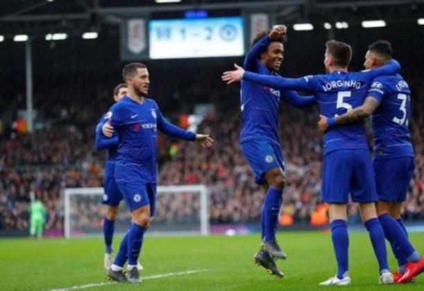 Chelsea foi bem no primeiro tempo
