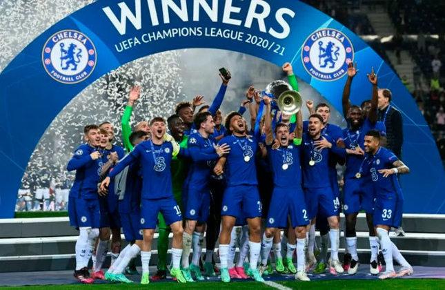 Chelsea (ING) - 98.000 pontos - campeão da Liga dos Campeões 2020/2021