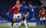 Neste domingo (28), o Chelsea recebeu o Manchester United, em Stamford Bridge, em partida válida pela 26ª rodada do Campeonato Inglês que, terminou com o placar de 0 a 0. Com o resultado, o time londrino perdeu a chance de entrar no G4, enquanto United ficou mais longe da liderança