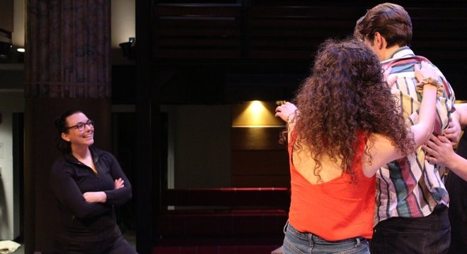Chelsea Pace (à esquerda) é uma das coordenadoras de intimidade: 'A intimidade é um instrumento para contar histórias, tem que servir ao roteiro'