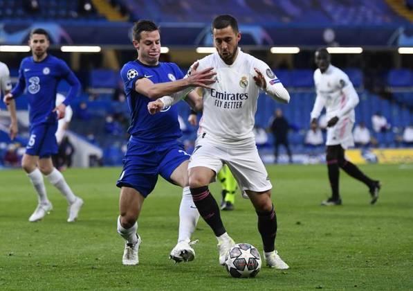 Real Madrid e Chelsea disputam nesta quarta-feira (5) a última vaga paga a final da Champions League 20/21. O jogo de ida, no estádio Alfredo Di Stéfano, terminou empatado em 1 a 1. Agora é a vez dos Blues receberem os merengues em casa, no Stamford Bridge. O vencedor do confronto irá encarar o Manchester City no dia 29 de maio, em Istambul