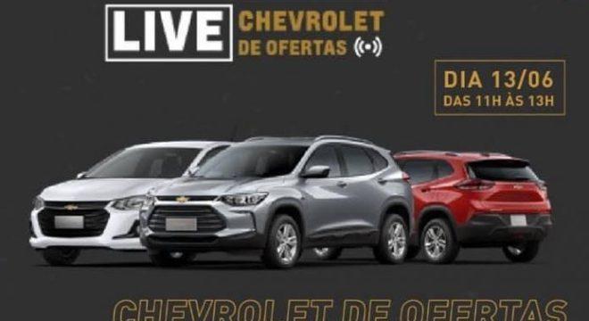 """Além do site e loja no Mercado Livre GM tem feito """"live de ofertas"""" com suporte virtual"""