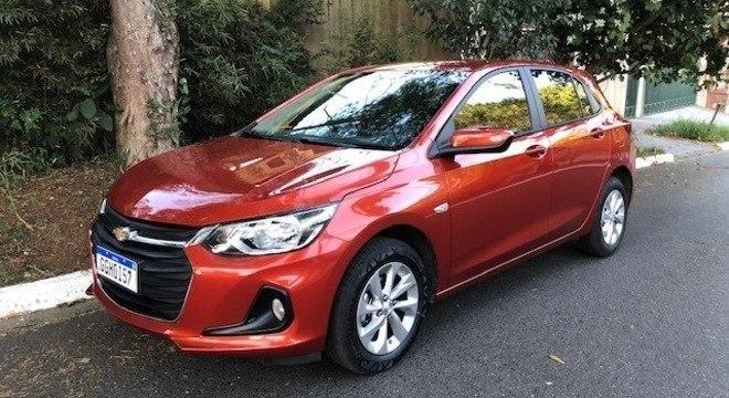 Chevrolet Onix é o mais vendido da primera quinzena de novembro