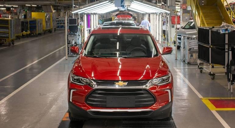 Chevrolet Tracker é produzido em São Caetano do Sul, em São Paulo
