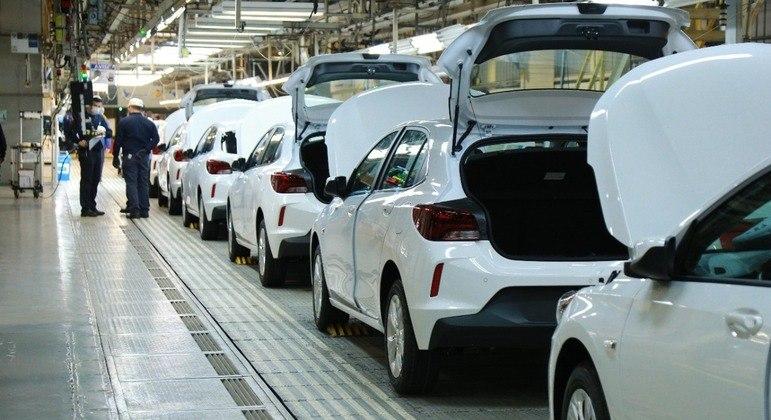 Chevrolet Onix é fabricado em Gravataí, no Rio Grande do Sul