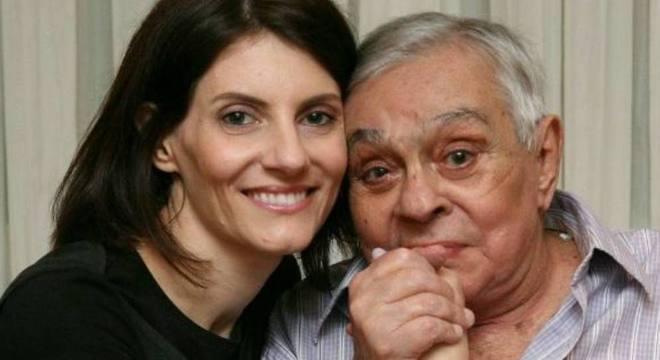 Malga di Paula e Chico Anysio foram casados por 14 anos