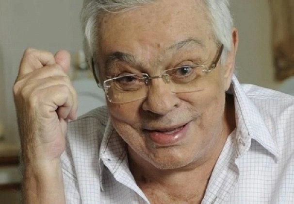 Chico Anysio - ator/humorista - time do coração: Vasco